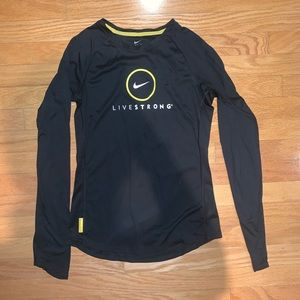 Nike live strong long sleeve shirt